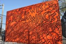 KEITH HARING, 'CRACK IS WACK' (1986)