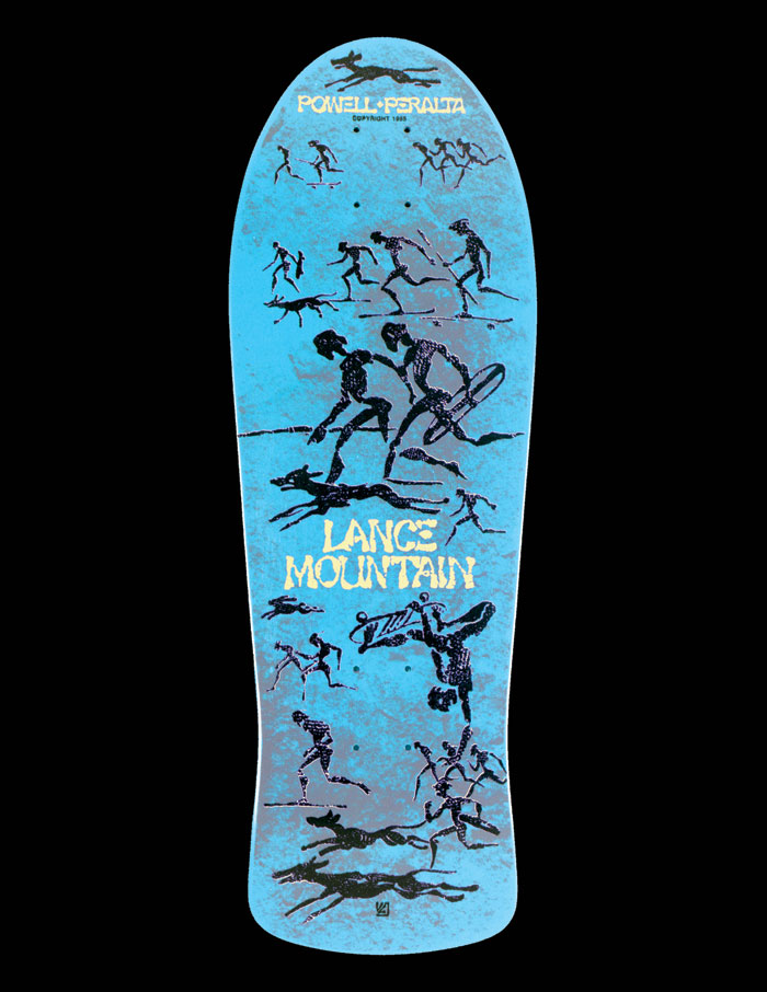LANCE MOUNTAIN DECK _ PHOTO CREDIT: POWELL PERALTA