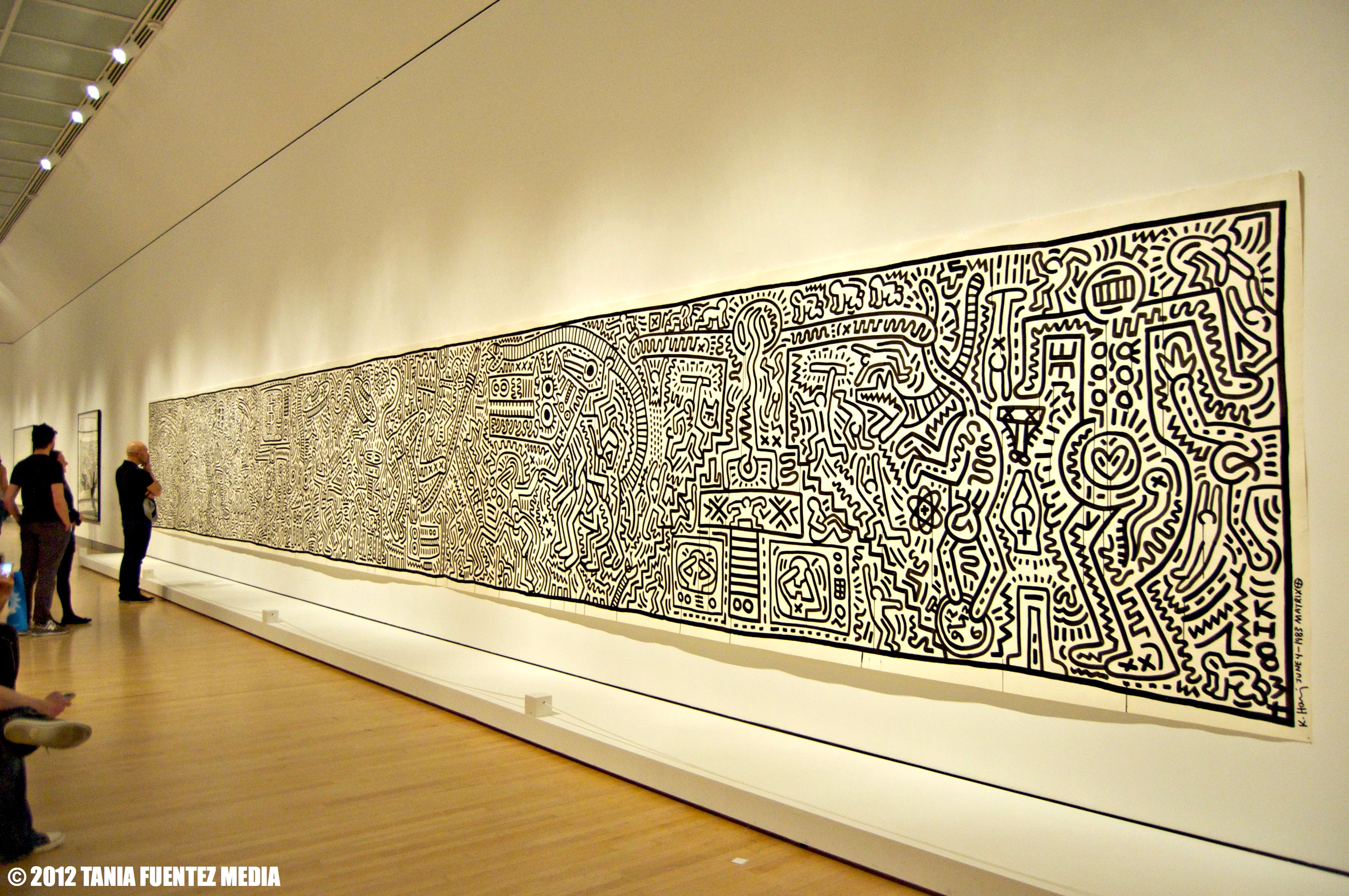 ART: Early On, Haring\'s Work (and Play) Embodied NYC   TANIA FUENTEZ ...