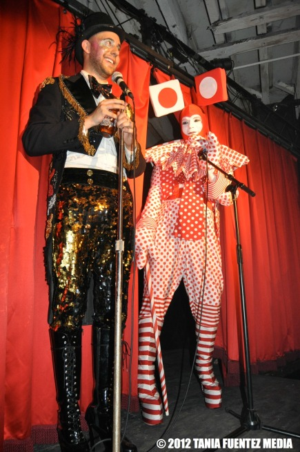 ERIC SCHMALENBERGER AND MUFFINHEAD AT RED LOTUS ROOM, 2012