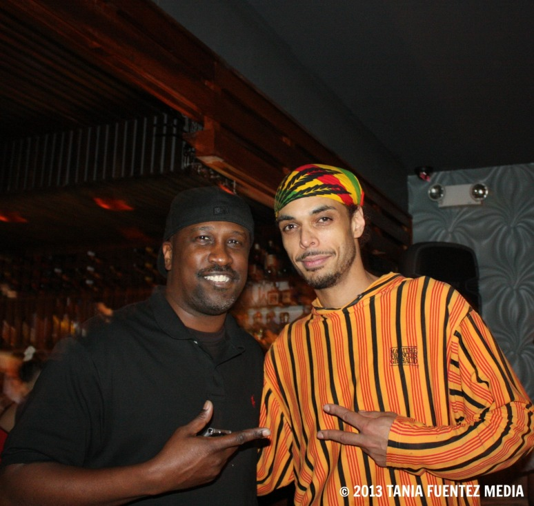 DJS TRUE AND TODD TERRY (LEFT) IN NYC