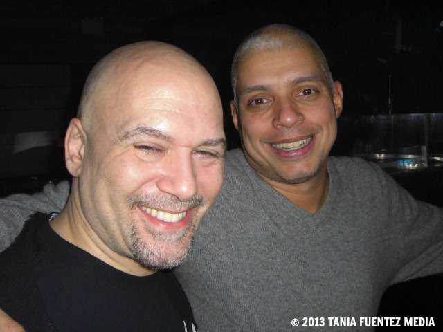 DJ DANNY KRIVIT (LEFT) AND NYC PROMOTER BENNY SOTO AT CIELO
