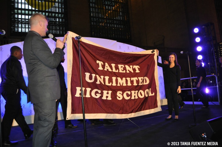 NYC'S TALENT UNLIMITED HIGH SCHOOL PERFORMS