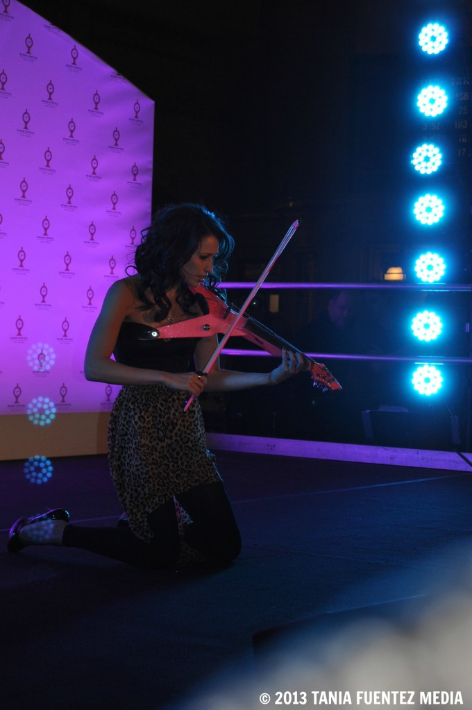 ELECTRIC VIOLINIST SARAH CHARNESS