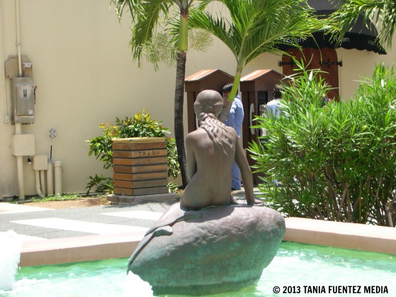 'LITTLE MERMAID' STATUE AT HAVENSIGHT MALL, ST. THOMAS, U.S. VIRGIN ISLANDS