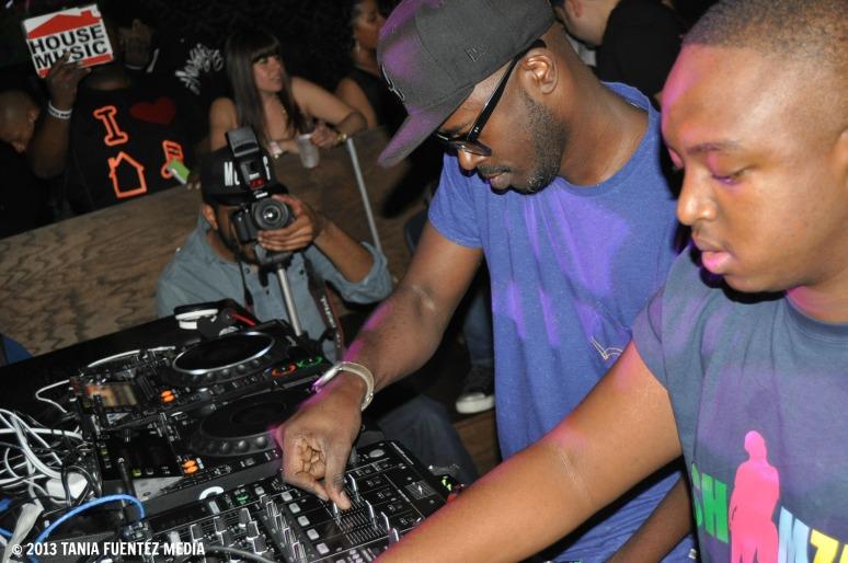 DJS BLACK COFFEE (LEFT) AND SHIMZA