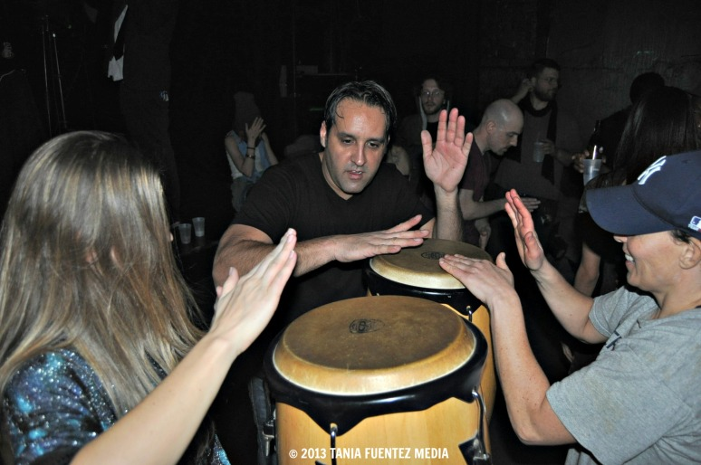 LIVE PERCUSSION AT PUBLIC ASSEMBLY, BROOKLYN