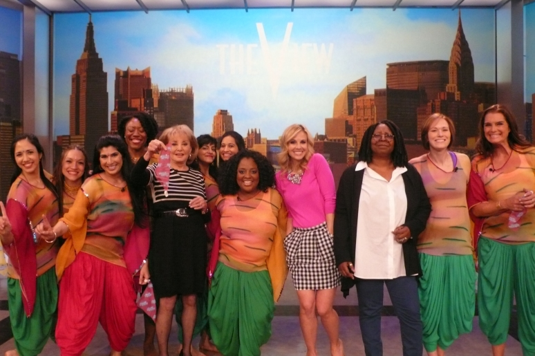 MASALA BHANGRA WORKOUT FEATURED ON ABC'S 'THE VIEW'