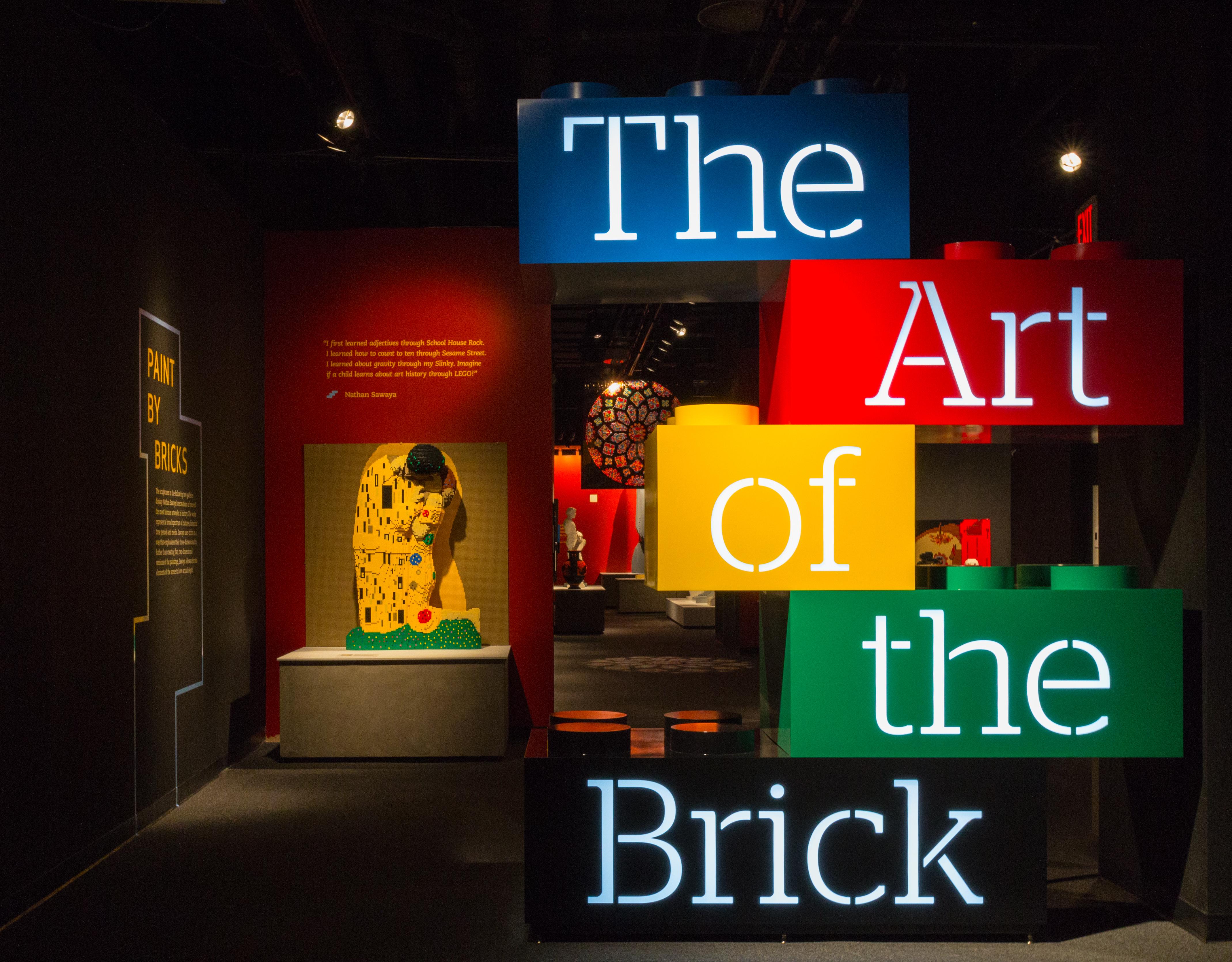 Wall Art The Brick : Art sawaya s lego sculptures more than another brick in