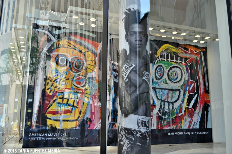 JEAN-MICHEL BASQUIAT 'S PAINTINGS ON DISPLAY AT CHRISTIE'S