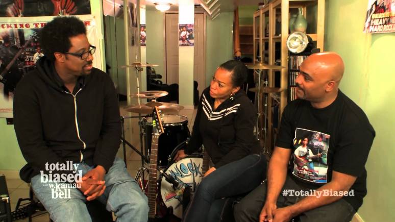 SCENE FROM 'TOTALLY BIASED' WITH W. KAMAU BELL