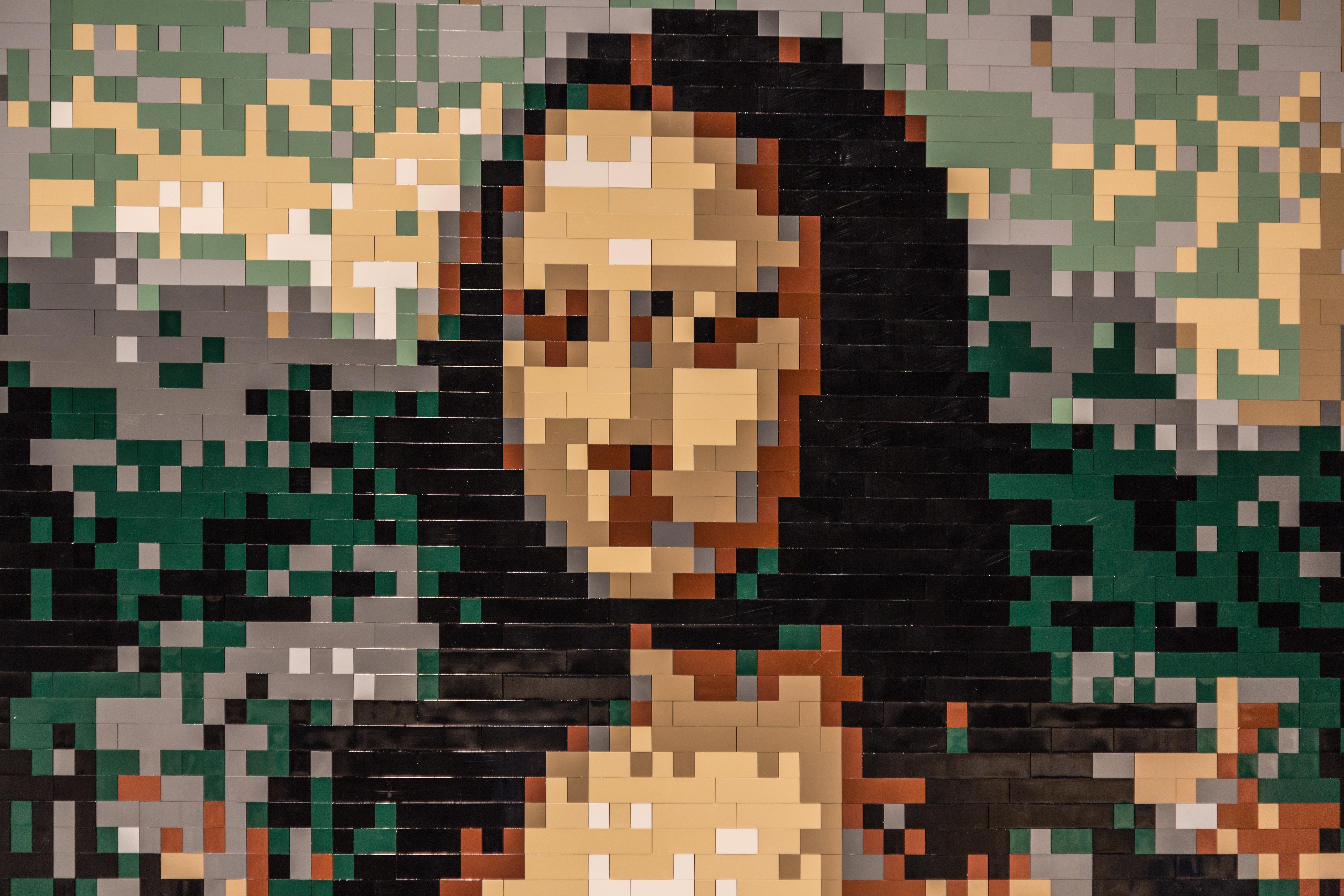 топливо сделать пиксельную фотографию жителей