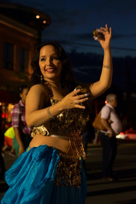 NAHLA SHARES ART OF BELLYDANCE  PHOTO CREDIT: DESMOND DELEO
