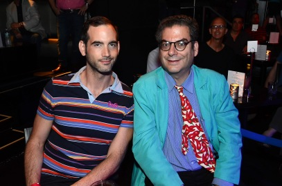 NYC GOSSIP COLUMNIST MICHAEL MUSTO (R) PHOTO CREDIT: ANDREW WERNER PHOTOGRAPHY