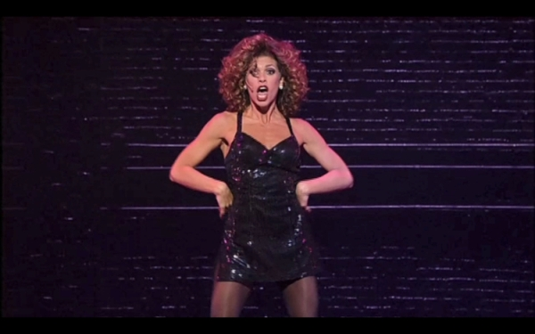 RACHELLE RAK PERFORMS IN FOSSE