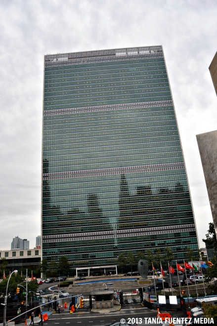 UNITED NATIONS ON A CLOUDY DAY