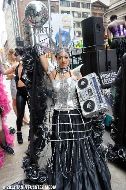 PRINCESS LOCKEROOO AT 2013 NYC DANCE PARADE