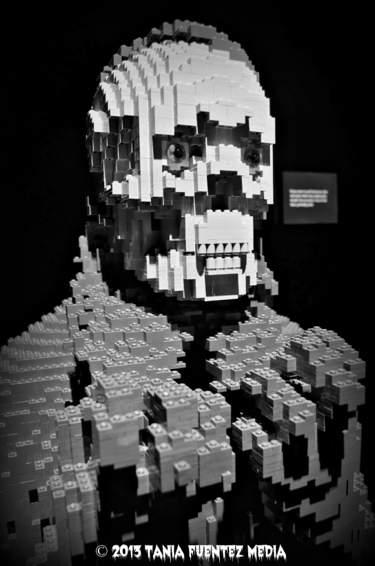 NATHAN SAWAYA SCULPTURE FROM 'THE ART OF THE BRICK' EXHIBIT, NYC