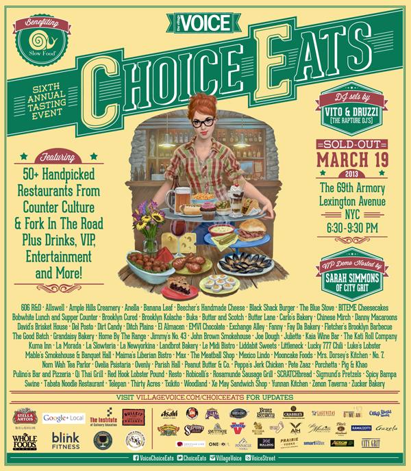 CHOICE EATS 2013